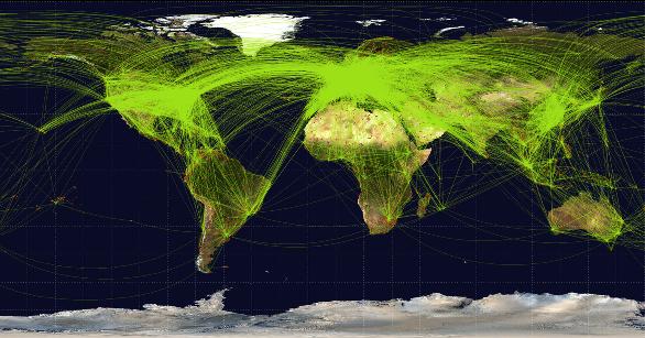 non-stop flights southern hemisphere