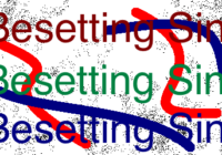 How To Overcome Besetting Sin