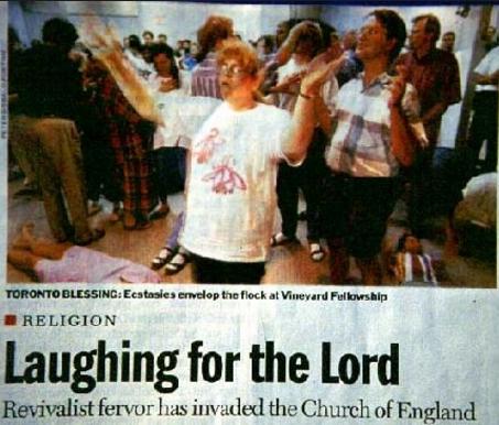 People worshipping Toronto Vineyard
